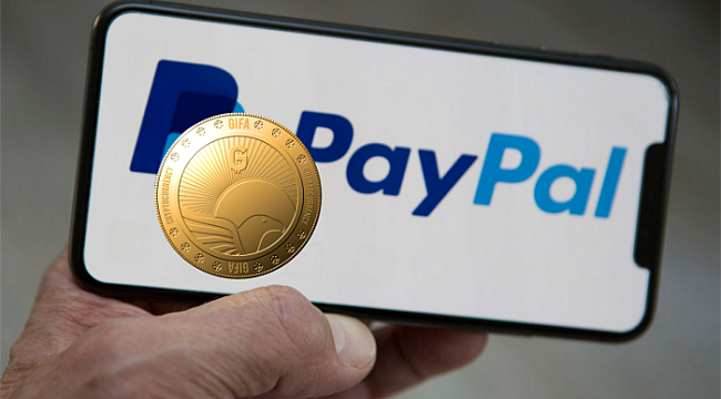 Purchase GIFA Token With PayPal
